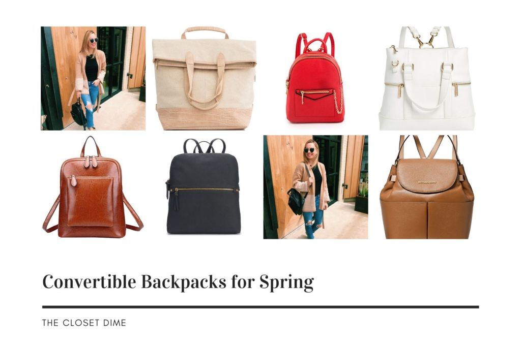 Convertible Backpacks for Spring