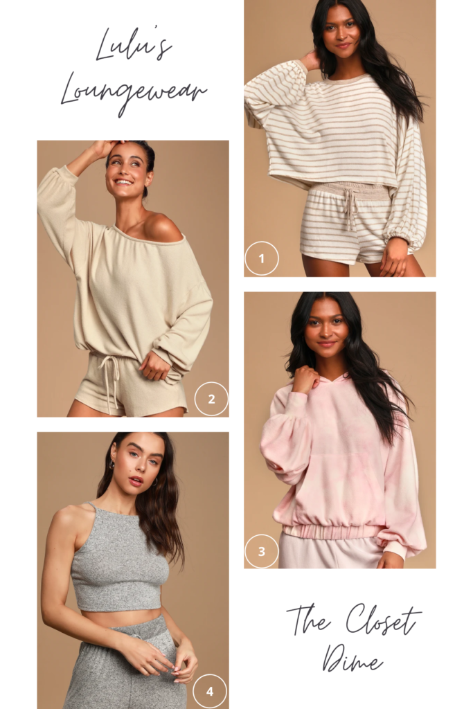 Loungewear for Spring and Quarantine