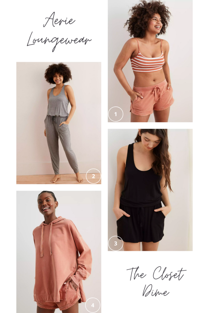 loungewear for spring and quarantine - aerie
