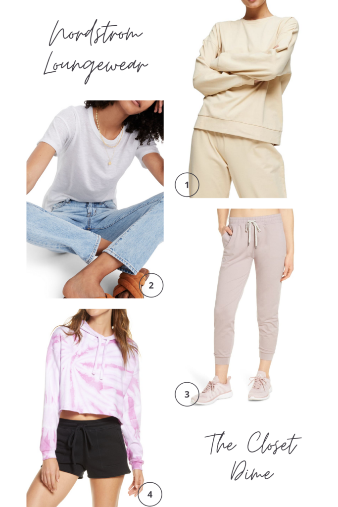 loungewear for spring and quarantine - nordstrom
